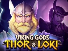 viking gods loki and thor